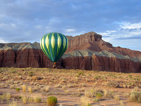 Goblin Valley Ballooning Picture 18