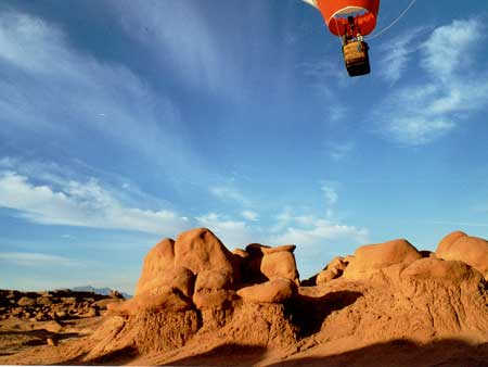 Goblin Valley Ballooning Picture 2