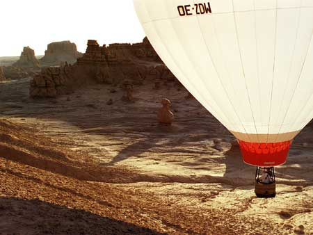 Goblin Valley Ballooning Picture 4