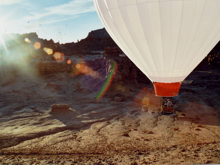 Goblin Valley Ballooning Picture 5