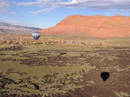 Snow Canyon Ballooning Picture 16