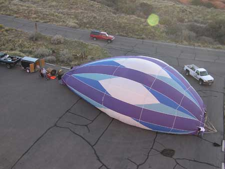 Snow Canyon Ballooning Picture 3