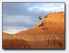 WOW! - Goblin Valley Ballooning