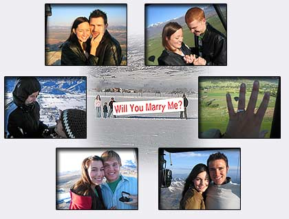 Private Hot Air Balloon Flights & Wedding Proposals - 866 366 8824