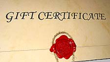 Gift Certificate Print