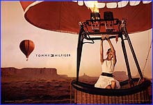 Tommy Hilfiger Photoshoot - Monument Valley 2006